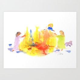 Firekeepers Art Print