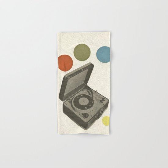 Pop Music Hand & Bath Towel