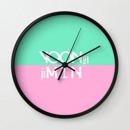 BTS: YoonMin Wall Clock