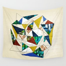 Geo Shapes no.1 Wall Tapestry