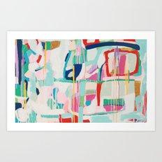 Cafe Orchestra Art Print