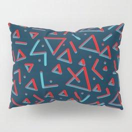 3D Pattern. Metal Feel Pillow Sham