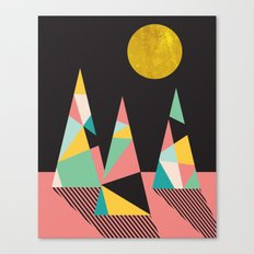 UNDER THE MOON Canvas Print