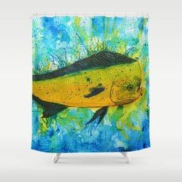 Mahi Mahi Shower Curtain