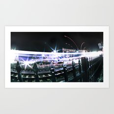 Sprint Art Print