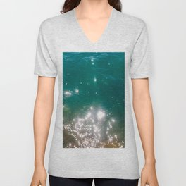 The color of the sea Unisex V-Neck