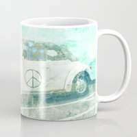 bug Mugs featuring ♥ BUG by RDelean