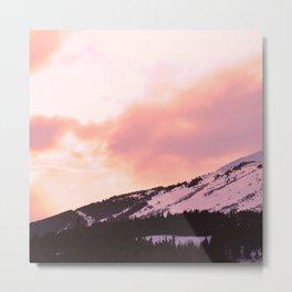 Rose Quartz Turbulence - II Metal Print