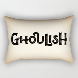 Ghoulish Rectangular Pillow