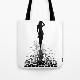 Walking Home Barefoot Tote Bag