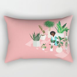 Secret Garden (Circle of Friends Version) Rectangular Pillow