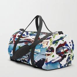 Woman swimming Duffle Bag