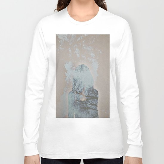 A Ghost in the Trees Long Sleeve T-shirt