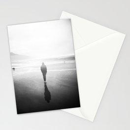 Oregon Coast Ghost - Holga Black and White Double Exposure Stationery Cards