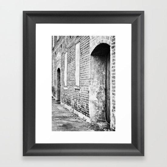 Oxford Abandoned Framed Art Print