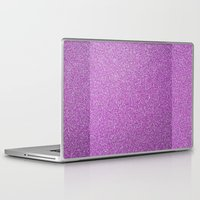 glitter Laptop & iPad Skins featuring Glitter by mailboxdisco