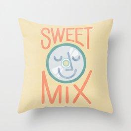Sweet Mix Throw Pillow
