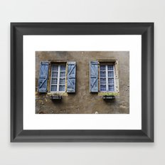 Cordes, France Framed Art Print