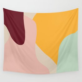 Ziz Abstract Painting Wall Tapestry