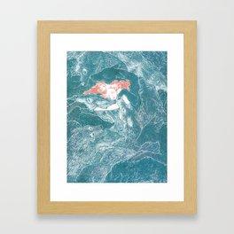 The Child Sleeps Framed Art Print