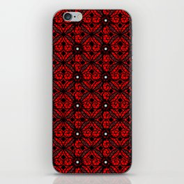 Red Gothic iPhone Skin