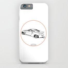 Crazy Car Art 0200 iPhone Case