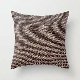 Roof pattern Throw Pillow