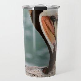 California Brown Pelican Travel Mug