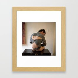 Powerful and soundly my Self emerged from his mysterious cage. Framed Art Print