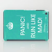 panic at the disco iPad Cases featuring PANIC by Vin Zzep