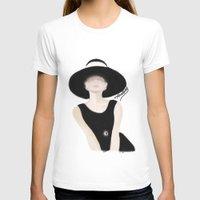 tiffany T-shirts featuring Breakfast Tiffany by carotoki art and love