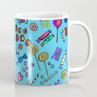 candy Mugs featuring Candy by andy_panda_