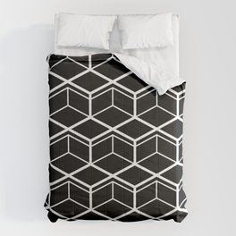 Step and Cube Comforters