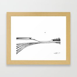 Landscape 110213 Framed Art Print