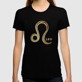 Leo Zodiac Sign T-shirt