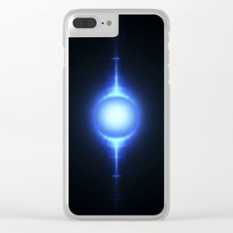 Nuclear fusion and high power energy concept. Clear iPhone Case
