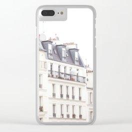 Slightly Paris Clear iPhone Case