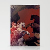 heroes of olympus Stationery Cards featuring Heroes by infloence