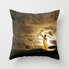 The Far Side of Midnight Throw Pillow