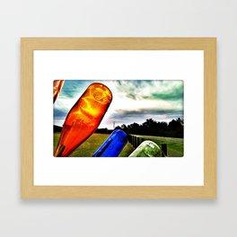 enlightening  Bottle Framed Art Print
