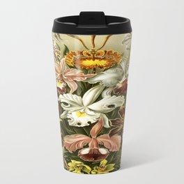 Ernst Haeckel Kunstformen der Nature Orchids Travel Mug