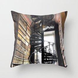 Bibliotheca Throw Pillow