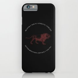 House of the Brave - Black iPhone Case