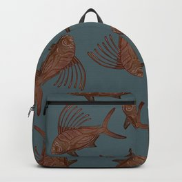 Rooster Blues Backpack