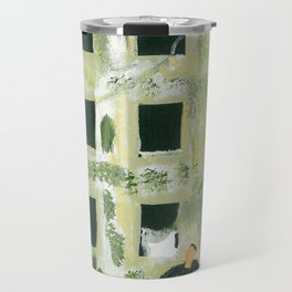 Edifice à la fenêtre Travel Mug