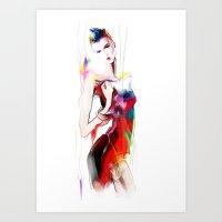 carnival Art Prints featuring carnival by tatiana-teni