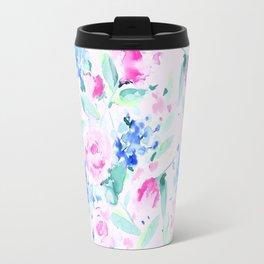 Scattered Lovers Pink Travel Mug