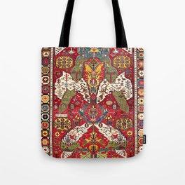 Dragon Sumakh Kuba East Caucasus Rug Print Tote Bag