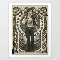 han solo Art Prints featuring Han Solo by TriStarr
