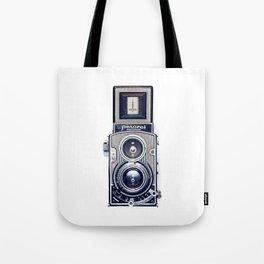 Vintage Camera Twin Lens Flexaret Tote Bag